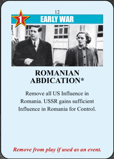 Romanian Abdication