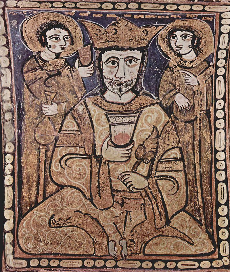 Roger II in Arab Style, Cappella Palatina.jpg