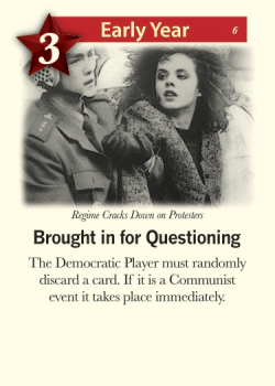 The Communists: Repression. Image ©GMT Games.