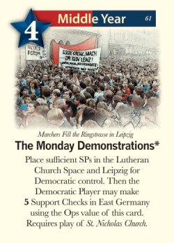 The Democrats: Mass movement. Image ©GMT Games.
