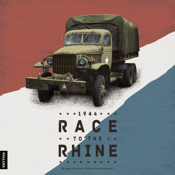 1944 Race to the Rhine Box Cover