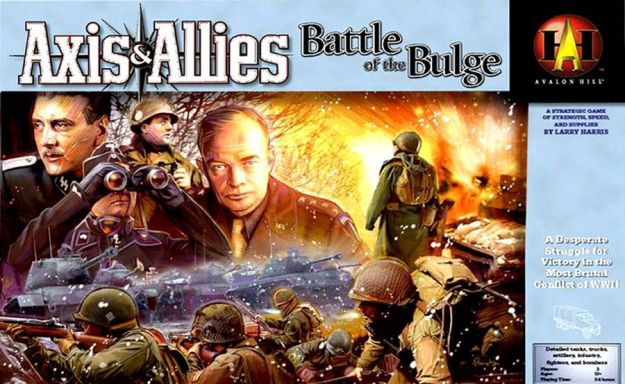 Axis and Allies Battle of the Bulge Box Cover