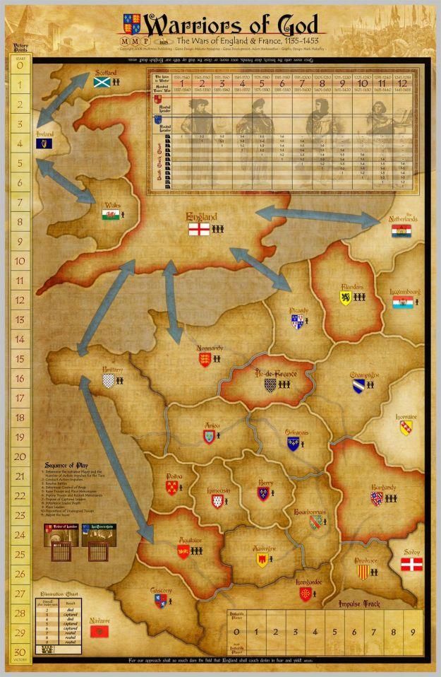 Warriors of God Map