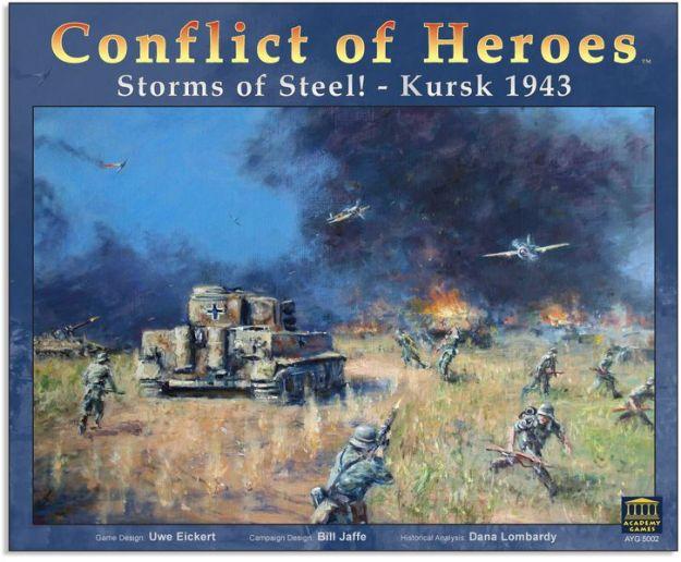 55 Conflict of Heroes - Storm of Steel! Kursk 1943